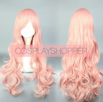 Pink 70cm Cute High Earth Defense Club Love! Akoya Gero Cosplay Wig