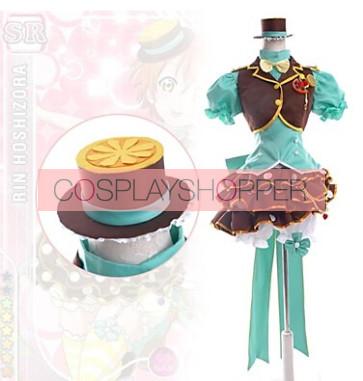 Love Live! SR Rin Hoshizora Fruitfresh Suit Cosplay Costume