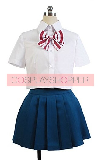 Wolf Girl and Black Prince Aki Tezuka Cosplay Costume