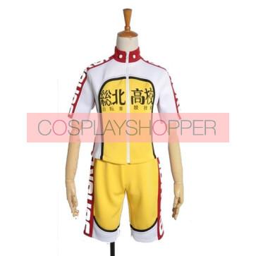 Yowamushi Pedal Sakamichi Onoda Sohoku High School Cosplay Costume