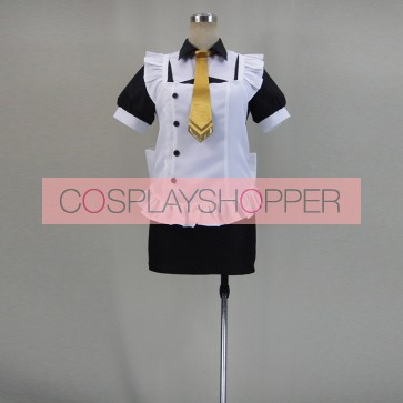 Love Live! SR Maki Nishikino Cafe Maid Cosplay Costume