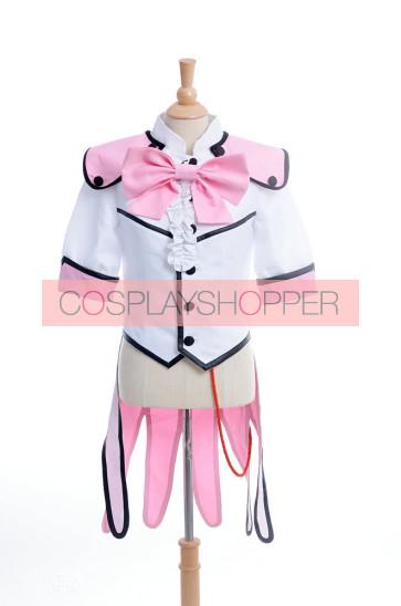 Cute High Earth Defense Club Love! Ryuu Zaou Cosplay Costume - V2