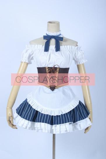 Love Live! Maki Nishikino Maid Costume Cosplay Costume