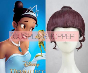 Brown The Princess and the Frog Tiana Cosplay Wig