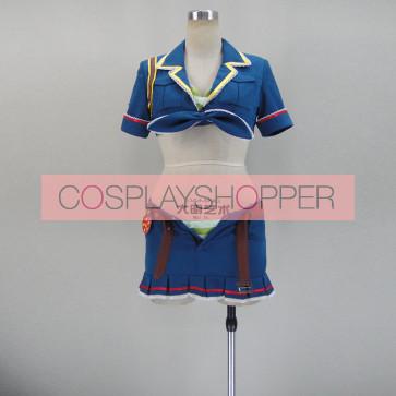 Love Live! SR Rin Hoshizora Racing Cosplay Costume