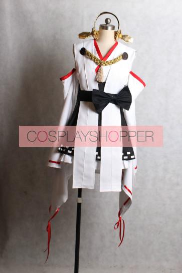 Kantai Collection KanColle Kongo Cosplay Costume