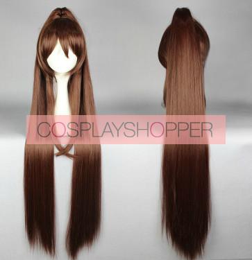 Brown 110cm Kantai Collection Yamato Cosplay Wig