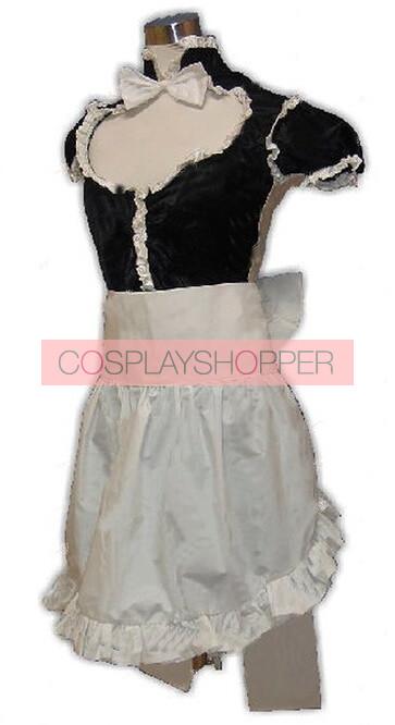 ZONE-00 Hanabusa Maid Cosplay Costume
