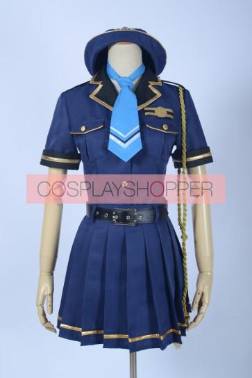 Love Live! Umi Sonoda Police Uniform Cosplay Costume