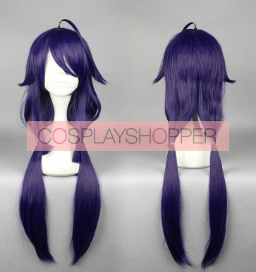 Purple 80cm Kantai Collection Taigei Cosplay Wig