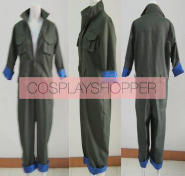 Katekyo Hitman Reborn! Black Spell Spanner Cosplay Costume