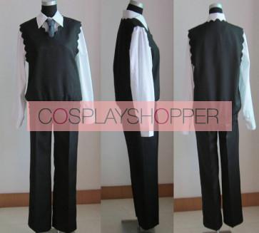 Katekyo Hitman Reborn! Tsunayoshi Sawada Tsuna Cosplay Costume