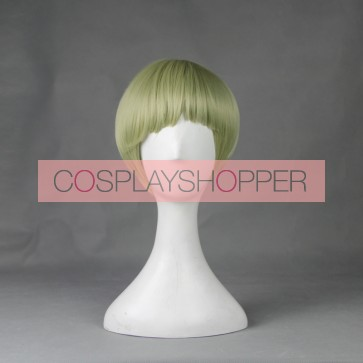 Green 60cm Cute High Earth Defense Club Love! Io Naruko Cosplay Wig