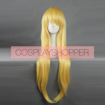 Yellow 60cm Your lie in April Kaori Miyazono Cosplay Wig