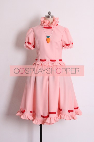 Touhou Project Tewi Inaba Tei Inaba Cosplay Costume