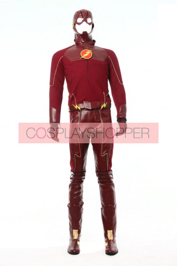 Deluxe The Flash Cosplay Costume