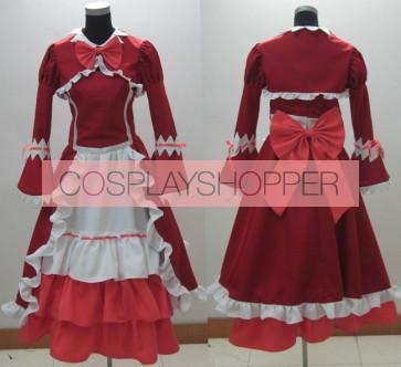Kuroshitsuji Black Butler Elizabeth Midford Dress Cosplay Costume