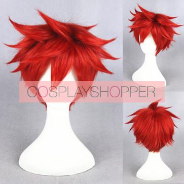 Red 30cm Monthly Girls' Nozaki-kun Mikoto Mikoshiba Cosplay Wig