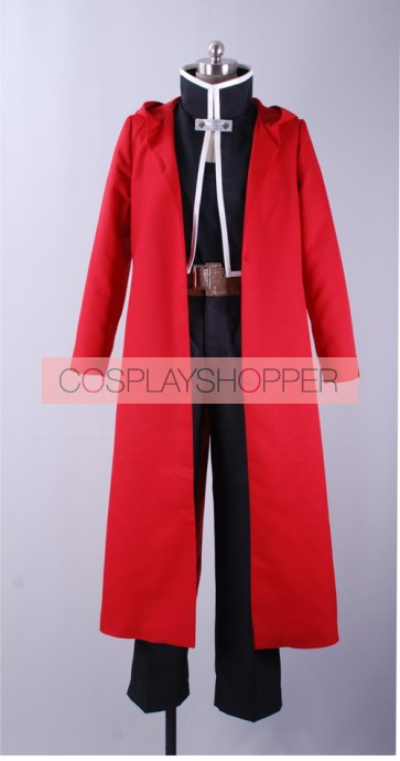 Fullmetal Alchemist Edward Cosplay Costume (Red Coat)