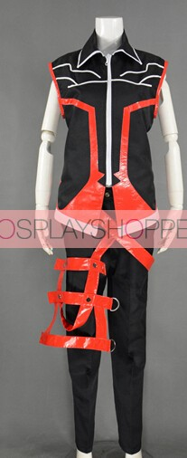 Elsword Raven Reckless Fist Cosplay Costume