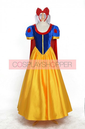Princess Snow White Dress Cosplay Costume - Full Set Edition