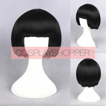 Black 30cm Gugure! Kokkuri-san Kohina Ichimatsu Cosplay Wig