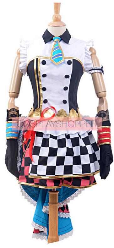 Love Live! UR Awakening Rin Hoshizora Dress Cosplay Costume