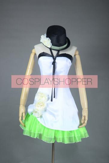 Vocaloid 2 Gumi Camellia Cosplay Costume