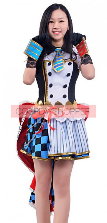 Love Live! UR Awakening Umi Sonoda Dress Cosplay Costume