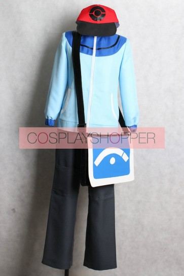 Pokemon Black and White Hilbert Cosplay Costume