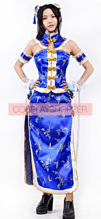 Love Live! SR Umi Sonoda Cheongsam Cosplay Costume