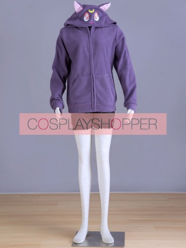 Sailor Moon Luna Cat Cosplay Jacket