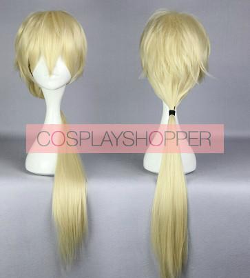 Golden 80cm Yurikuma Arashi Life Sexy Cosplay Wig