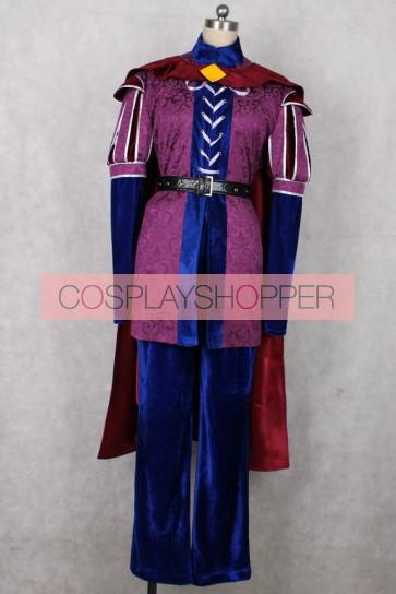 Sleeping Beauty Prince Philip Cosplay Costume