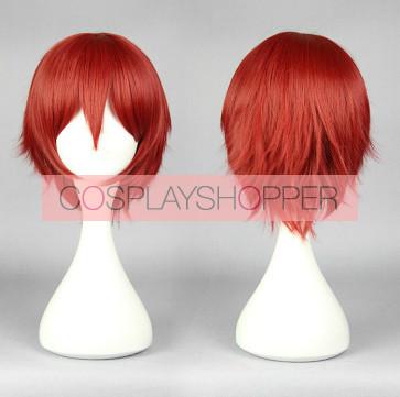 Red 30cm Assassination Classroom Karma Akabane Cosplay Wig