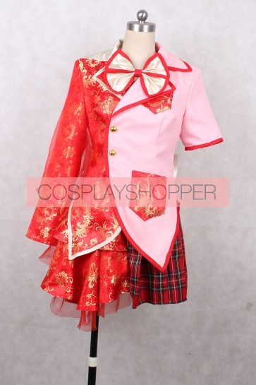 Momoiro Clover Z Kanako Momota Red Cosplay Costume