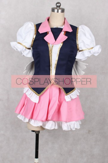 Happiness Charge PreCure! Cure Lovely Megumi Aino Cosplay Costume