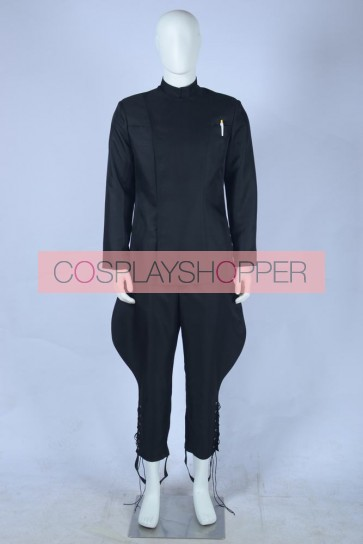 Star Wars Imperial Staff Officer Black Uniform Cosplay Costume