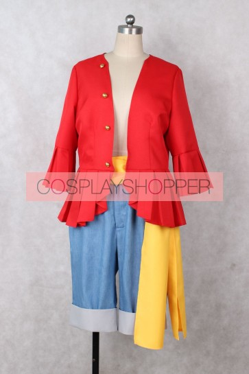 One Piece Monkey D. Luffy Suit Cosplay Costume