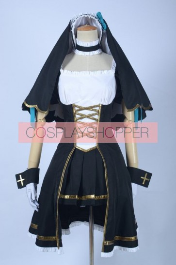 Love Live! Eri Ayase Nun Outfit Cosplay Costume