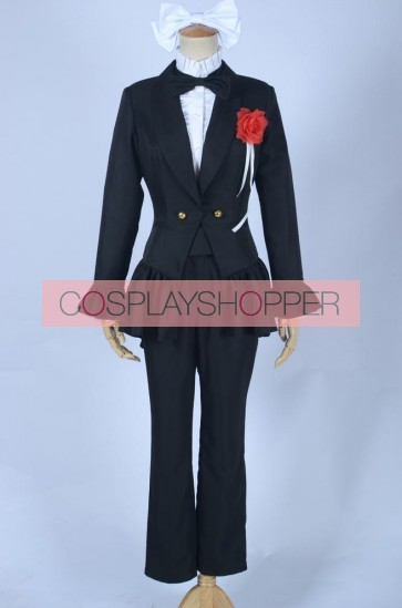Love Live! Love Wing Bell Niko Yazawa Black Uniform Cosplay Costume