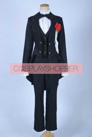 Love Live! Love Wing Bell Nozomi Tojo Black Uniform Cosplay Costume