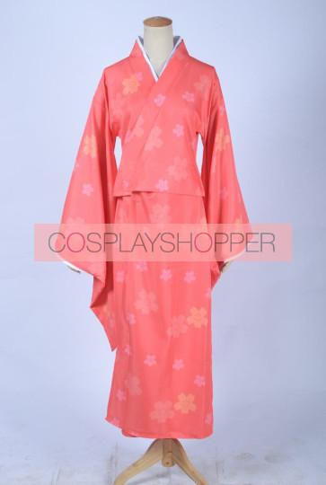 Gugure! Kokkuri-san Kohina Ichimatsu Kimono Cosplay Costume