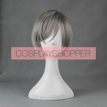 Grey 30cm Prison School Meiko Shiraki Cosplay Wig
