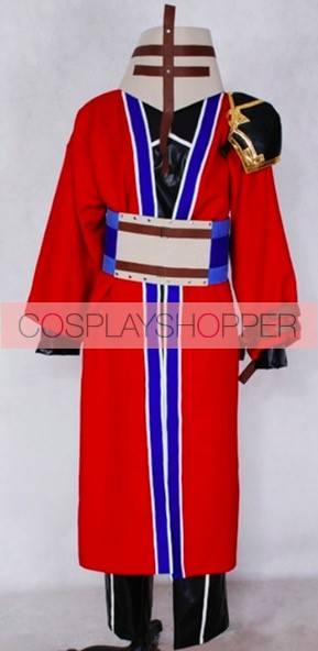 Final Fantasy X Auron Cosplay Costume