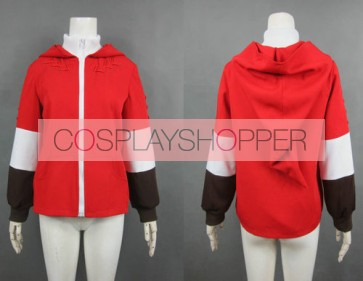 The Legend of Zelda Link Red Jacket Cosplay Costume