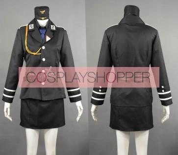 Axis Powers Hetalia Gilbert Weillschmitt Prussia Female Edition Cosplay Costume
