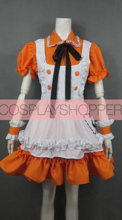 Vocaloid 3 SeeU Maid Cosplay Costume