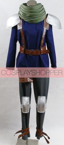 Final Fantasy VII 7 Crisis Core Cloud Strife Cosplay Costume