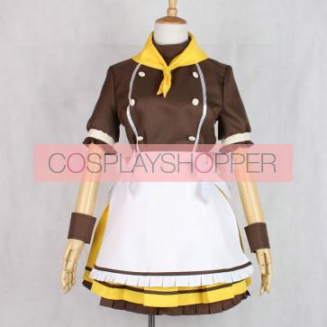 Love Live! Nico Yazawa COCO'S Maid Cosplay Costume